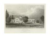 Highlands, the Seat of N Labouchere, Esquire, Essex Giclee Print by William Henry Bartlett