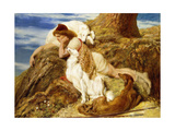 Endymion 'Ah! Well-A-Day, Why Should Our Young Endymion Pine Away'-Keats Giclee Print by Briton Rivière