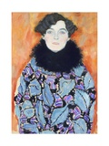 Portrait of Johanna Staude, 1917-1918 Giclee Print by Gustav Klimt