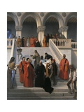 The Last Moments of Doge Marin Faliero Giclee Print by Francesco Hayez