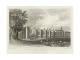 New Hall, Near Chelmsford, Essex, Now Occupied as a Nunnery Giclee Print by William Henry Bartlett