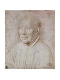 Portrait of Cardinal Nicola Albergati, 1431 Giclee Print by Jan van Eyck