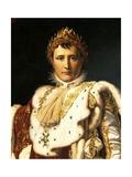 Napoleon Bonaparte in Emperor's Rodes Giclee Print by Francois Gerard