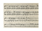 Score for La Boite Joujoux, Children's Ballet Giclee Print by Claude Debussy