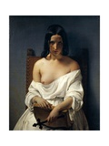 Meditation, Italy in 1848, 1851 Giclee Print by Francesco Hayez