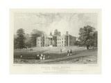Felix Hall, Essex, Seat of C C Western, Esquire, Mp Giclee Print by William Henry Bartlett