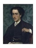 Portrait of Silvestro Bongiovanni, 1867 Lámina giclée por Giovanni Fattori