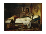 The Death of Cleopatra, 1874 Giclee Print by Jean Andre Rixens