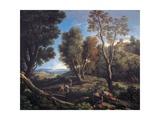Landscape Giclee Print by Jan Frans van Bloemen