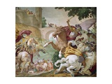 Life of Antenor, Detail of Cycle of Frescoes Giclee Print by Luca Ferrari