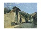 Study of Landscape, About 1860 Impression giclée par Cristiano Banti