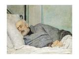 Last Moments of Giuseppe Mazzini, 1873 Giclee Print by Silvestro Lega