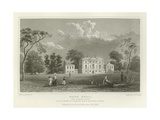 Hare Hall, Near Romford, Essex, Seat of J Western, Esquire Giclee Print by William Henry Bartlett