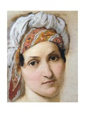Portrait of Wife Vincenza Scaccia Giclee Print by Francesco Hayez