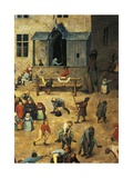 Children's Games, 1558-1560 Giclee Print by Pieter Brueghel the Younger