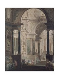 Feast of Absalon Giclee Print by Vittorio Maria Bigari