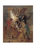 The Descent from the Cross after Rubens, Late 1760S Giclee Print by Thomas Gainsborough