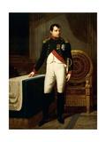 Napoleon Bonaparte's Portrait, 1809 Giclee Print by Robert Lefevre
