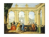 Allegory of Arts, Music, 1751-1752 Giclee Print by Giuseppe Zocchi