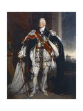 Portrait of King William IV, Copy after Sir Martin Archer Shee, 1844 Reproduction procédé giclée par George Peter Alexander Healy