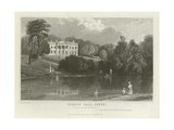 Debden Hall, Essex, the Seat of Sir Francis Vincent Giclee Print by William Henry Bartlett