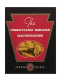 Advertisement for the Pennsylvania Railroad Electrification, C.1936 Giclee Print