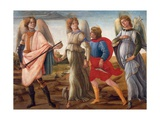 The Three Archangels and Tobias Giclee Print by Filippino Lippi
