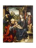 Adoration of the Magi, Ca 1515 Giclée-Druck von Joos Van Cleve