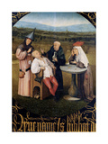 The Extraction of the Stone of Madness, 1475 - 1480 Giclee Print by Hieronymus Bosch