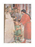 St. Augustine as a Boy, from the Life of St. Augustine Giclee Print by Benozzo di Lese di Sandro Gozzoli