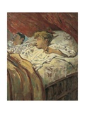 Children Captured in their Sleep, 1896 Giclee Print by Telemaco Signorini