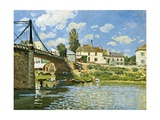 Bridge at Villeneuve-La-Garenne, 1872 Giclee Print by Alfred Sisley
