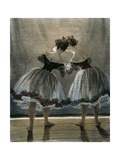 Two Dancers Seen from Behind Giclee Print by Paul Gavarni