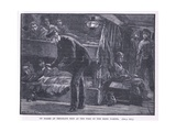 On Board an Emigrant Ship at the Time of the Irish Famine Ad 1846 Giclee Print by William Heysham Overend