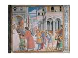 Stories of St Augustine:The School of Tagaste, 1465 - 1465 Giclee Print by Benozzo di Lese di Sandro Gozzoli