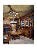 Art Nouveau Style Dining Room, 1903-1906 Giclee Print by Eugene Vallin