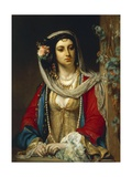 Jewish Woman from Cairo Giclee Print by Jean Francois Portaels