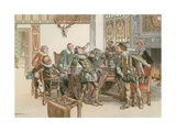 John Sigismund in Conflict with Count Palatine of Neuburg in 1613 Giclee Print by Carl Rohling