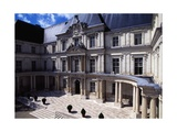 View of Gaston D'Orleans Wing, 1635-1638 Giclee Print by Francois Mansart