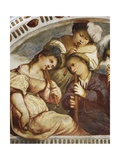 Concert, Recorder Quartet, 1531-1532 Giclee Print by  Romanino