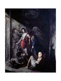 St Peter Being Freed by the Angel Giclee Print by Johann Heinrich Schonfeld