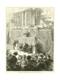 Sitting of the Delegate Government at Bordeaux, December 1870 Giclee Print