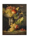 Still Life, Fruit Composition Giclee Print by Francesco Malacrea