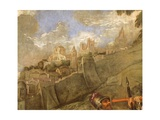 Doge Pietro Mocenigo Conquers Smirne in 1471 Giclee Print by Paolo Veronese