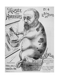 The King of Pigs, Plate No. 4 in the Series the Museum of Horrors, 1900 Giclee Print by Jules Eugene Lenepveu