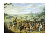 Scene of War: Population Fleeing before Enemy Giclée-Druck von Sebastian Vrancx