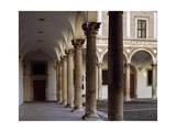 Portico of Courtyard of Honor, 1466-1472 Giclee Print by Luciano Laurana