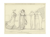 Venus Disguised Inviting Helen to the Chamber of Paris Giclee Print by John Flaxman