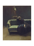 The Acting Manager or Rehearsal: the End of the Act, C.1885-6 Giclee Print by Walter Richard Sickert