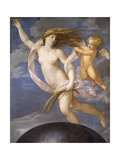 Fortune Being Restrained by Love, 1623 Giclee Print by Guido Reni